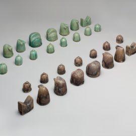 כלי שחמט מאיראן, המאה ה-12; Pfeiffer Fund