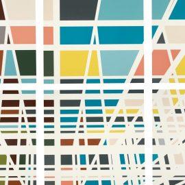 """Sarah Morris, """"Dulles (Capital)"""", 2001"""