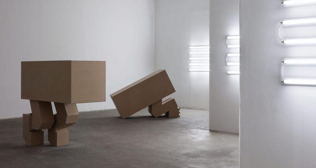 אלונה רודה, (Safe and Sound (Evolutions, מראה הצבה, גלריה רוזנפלד תל אביב, 2015 (צילום: טל ניסים)