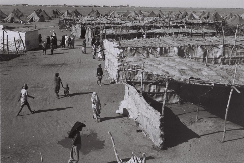 """מחנה חאשד בעדן, 1949 (דוד אלדן, לע""""מ)"""