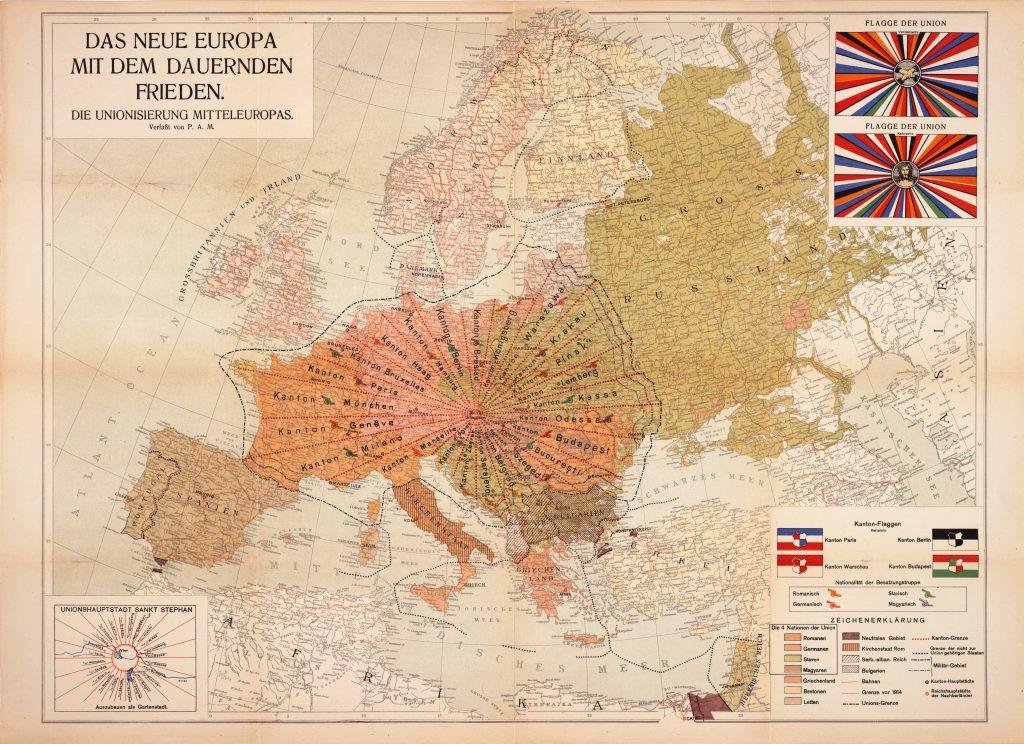 הצעה לאיחוד אירופה, וינה 1920