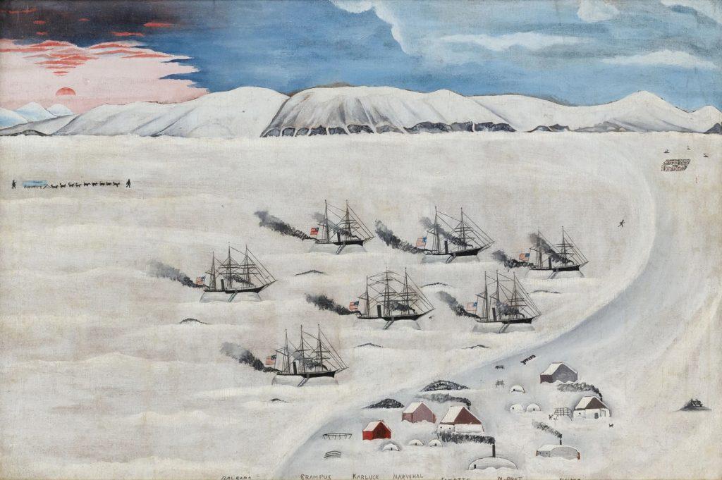 ג'ון ברטונצ'יני, האי הרשל, שמן על בד, 1893-1894